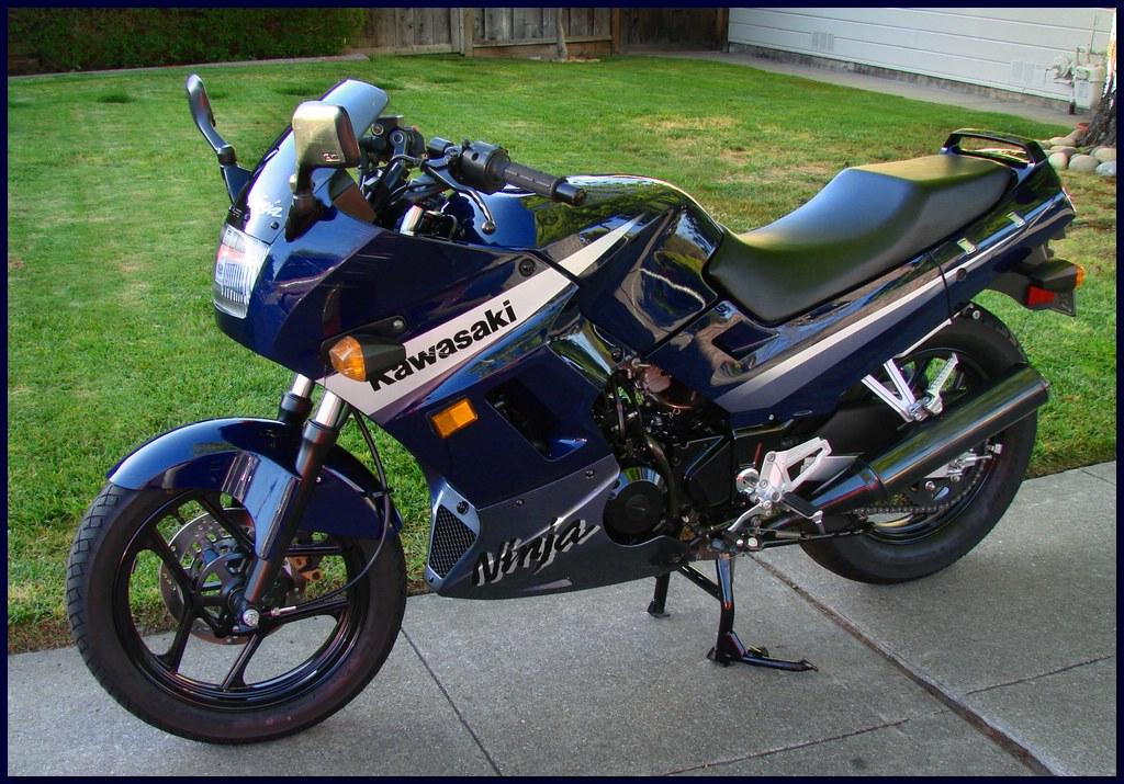 2005 Kawasaki Ninja 250 - April 11, 2008 - San Carlos, CA